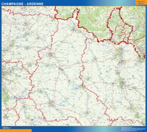 carte champagne ardenne
