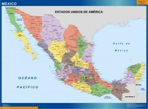 cartes mexique politique